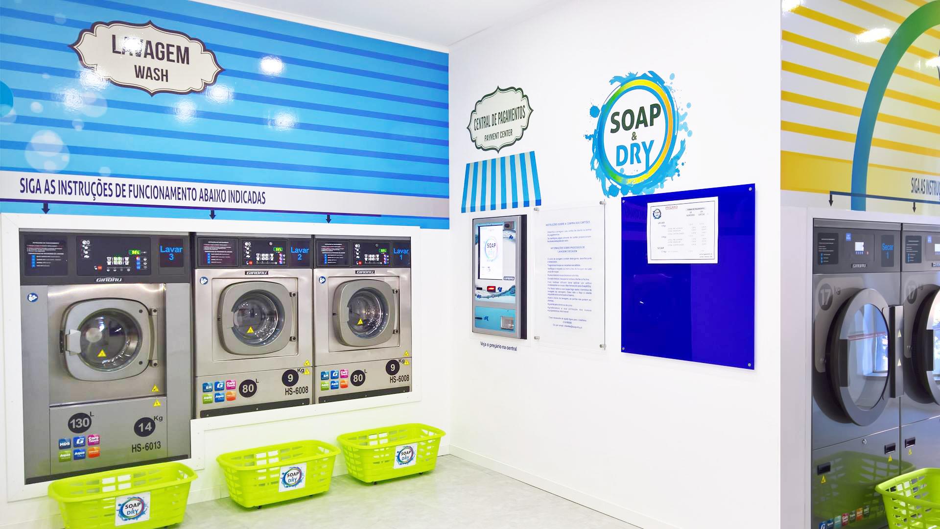 sobre nós - Soap & Dry Lavandaria Self Service em Algés, Miraflores, Linda a Velha, Pedrouços, Belém, Restelo, Cruz Quebrada, Dafundo, Oeiras
